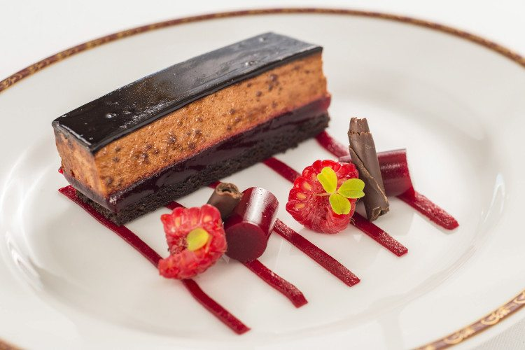 Chocolate Raspberry Cake at Petites Assiettes de Remy