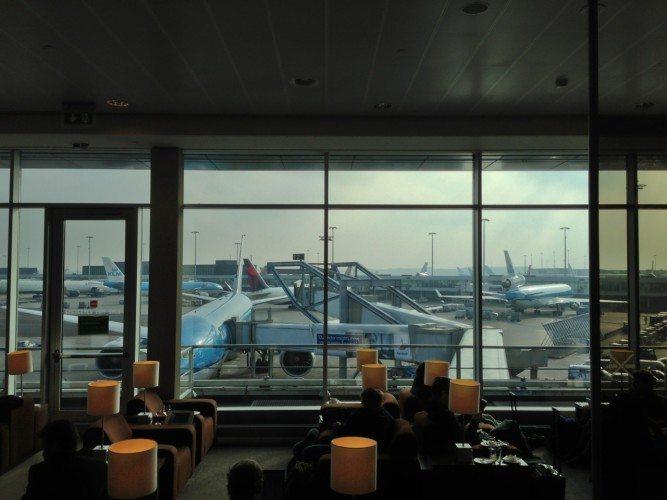 KLM Lounge AMS - 05