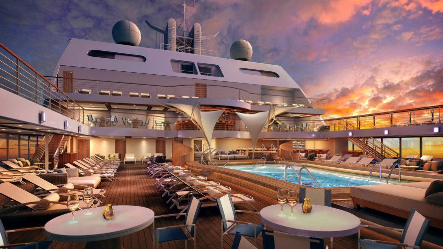Seabourn Encore Retreat