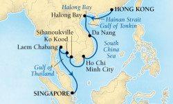 2016 SF&W Cruise Map