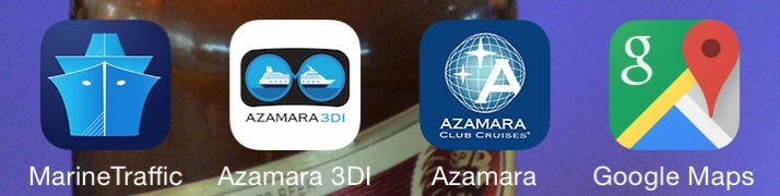 Apps Used On Our Azamara Voyage - 3