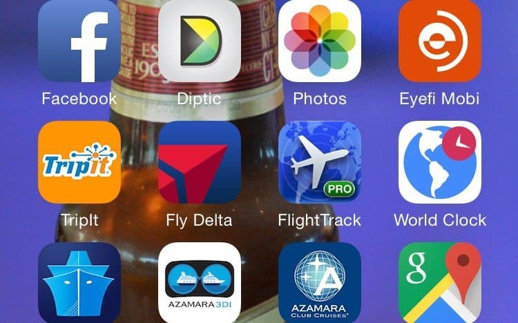 Apps Used On Our Azamara Voyage - 8