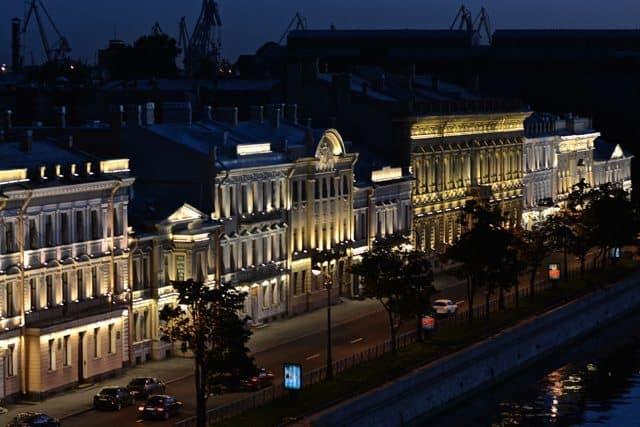 At Night St Petersburg  - 02