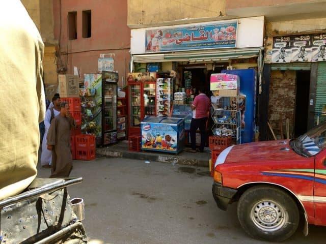 Typical Egyptian street scene