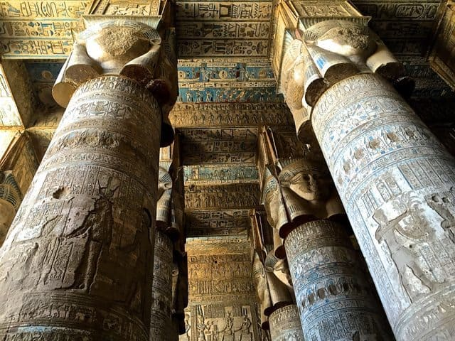 Temple Of Goddess Hathor At Denderah - 37