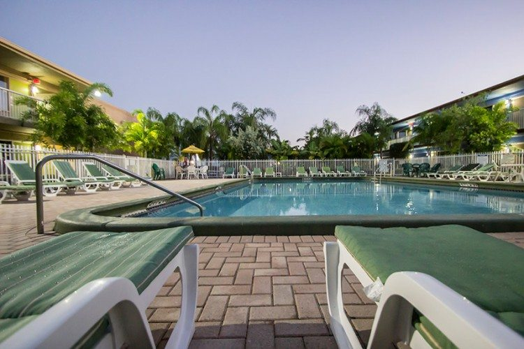 pre-cruise hotel