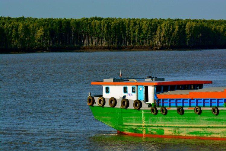 On The Mekong River - 36
