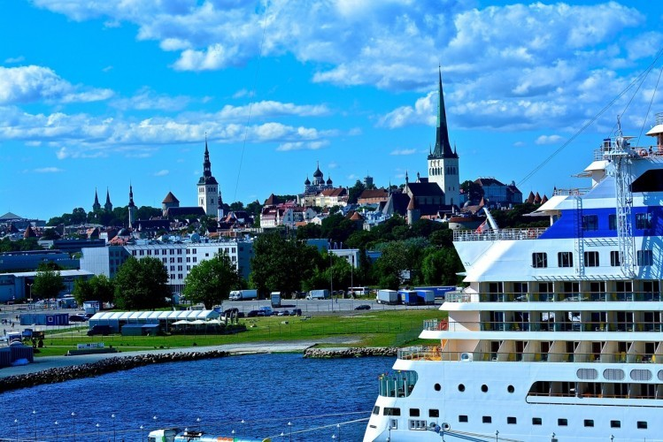 A photo of one of the wonderful places we have visited, Tallin, Estonia