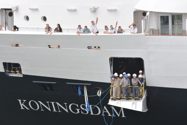 Koningsdam Arrives - 167