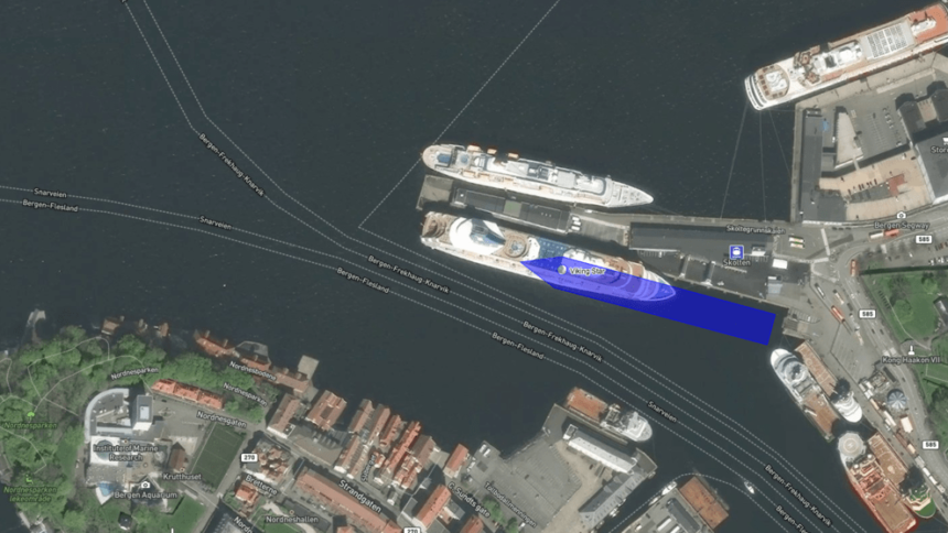 Follow Viking Star In Real Time Satellite View Chris Cruises - Real time satellite view