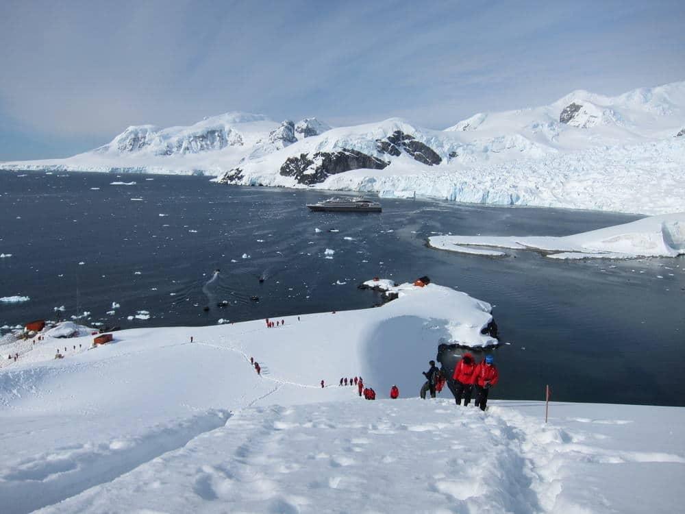 Antarctica; Le Boreal cruise ship