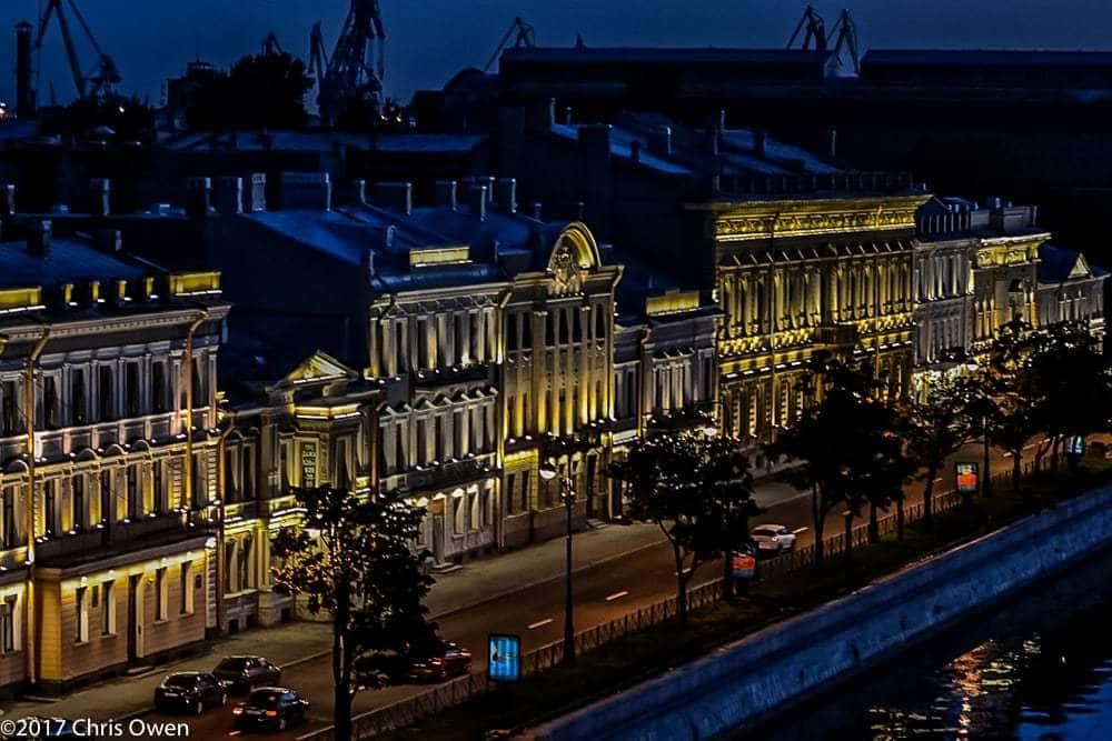 At Night St Petersburg – 02