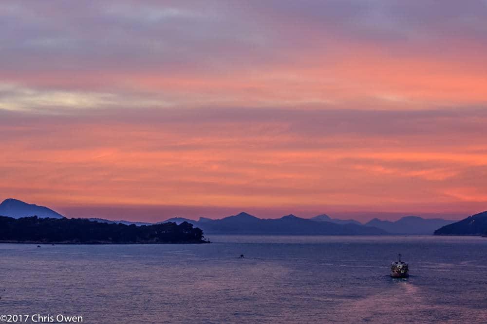 Dubrovnik Sunset – 091-2
