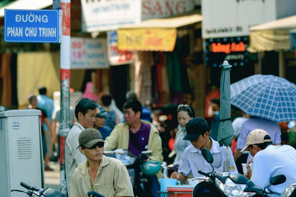 Saigon Shopping With The Chefs – 007