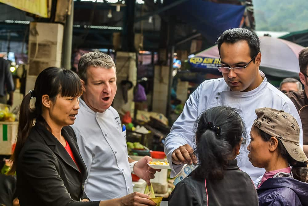 Shopping With The Chefs In Vietnam – 123