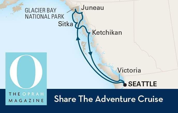 Holland America + Oprah Alaska Cruise Details
