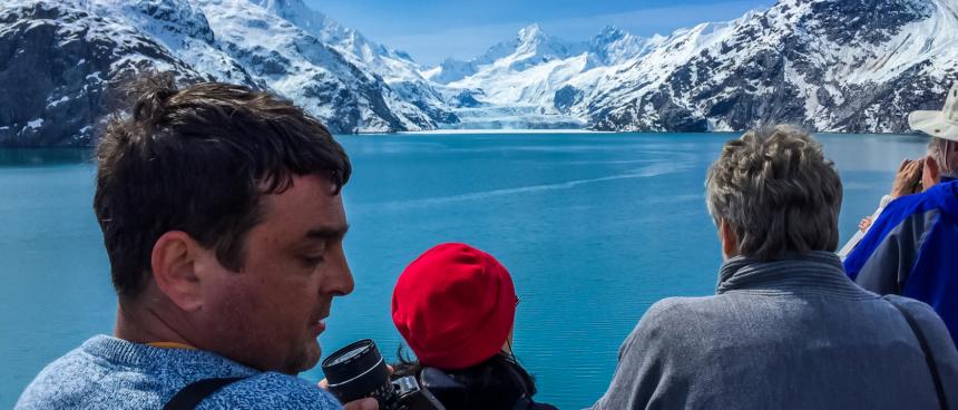 AK glacier viewing