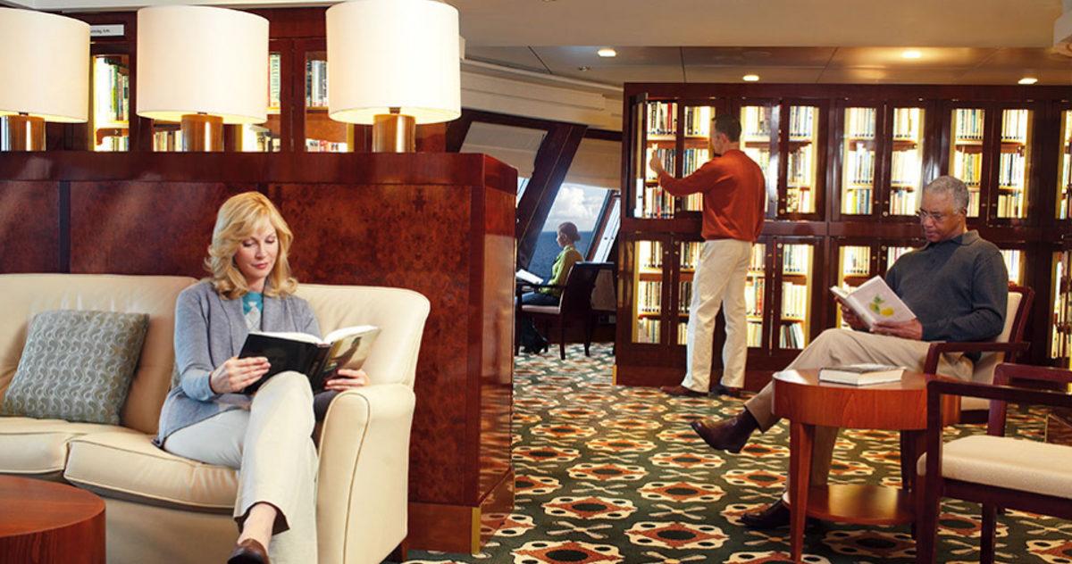 Cruise Ship Libraries