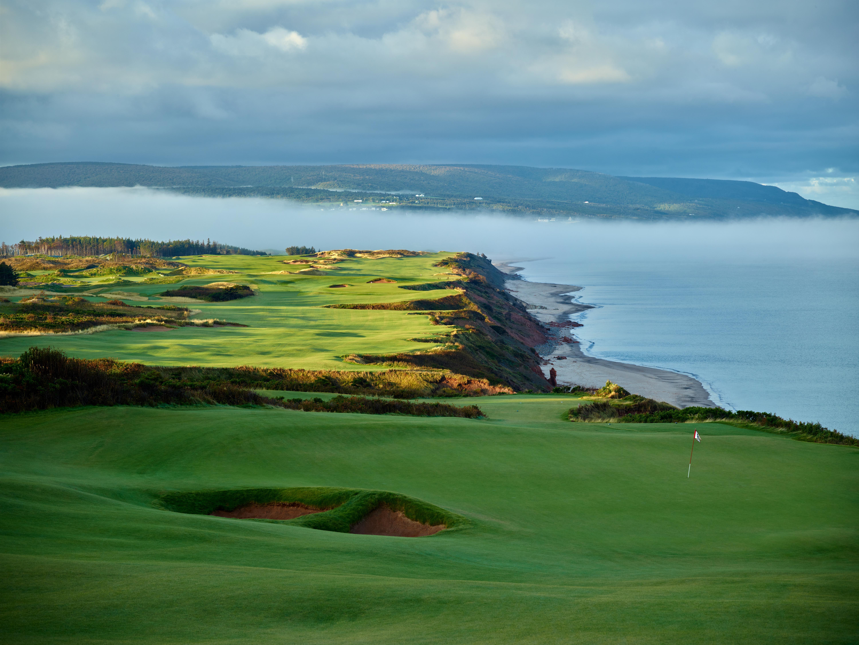 Cabot Cliffs Golf Course #17/18
